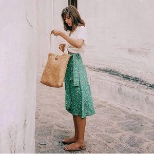 🆕 Faithfull the Brand Valencia Wrap Skirt Audrey